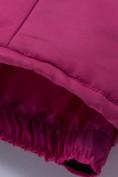 Оптом Горнолыжный костюм подростковый для девочки темно-фиолетового 8930TF в Перми, фото 18
