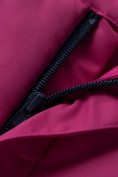 Оптом Горнолыжный костюм подростковый для девочки темно-фиолетового 8930TF в Перми, фото 20