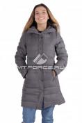 Интернет магазин MTFORCE.ru предлагает купить оптом куртка зимняя женская серый цвета F05Sr по выгодной и доступной цене с доставкой по всей России и СНГ