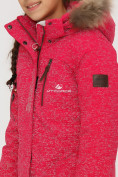 Оптом Куртка парка зимняя подростковая для девочки розового цвета G27R в Казани, фото 6
