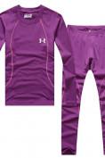 Оптом Термобелье женское фиолетового цвета 3114F, фото 13