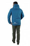 Оптом Куртка мужская осень весна синего цвета 1718-1S в Екатеринбурге, фото 3