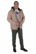 Интернет магазин MTFORCE.ru предлагает купить оптом куртка мужская осень весна синего бежевого цвета 1718-1B по выгодной и доступной цене с доставкой по всей России и СНГ