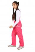 Оптом Брюки горнолыжные подростковые для девочки розового цвета 816R, фото 5