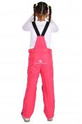Оптом Брюки горнолыжные подростковые для девочки розового цвета 816R, фото 2