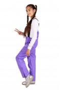 Оптом Брюки горнолыжные подростковые для девочки фиолетового цвета 816F, фото 5