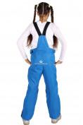 Оптом Брюки горнолыжные подростковые для девочки синего цвета 816S, фото 4