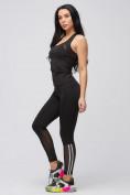 Оптом Спортивный костюм для фитнеса женский черного цвета 21106Ch, фото 10