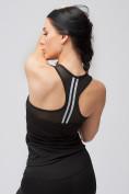 Оптом Спортивный костюм для фитнеса женский черного цвета 21106Ch, фото 9