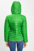 Оптом Стеганная куртка зеленого цвета 33315Z в Екатеринбурге, фото 12