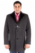 Оптом Пальто мужское серого цвета Mc-17Sr, фото 2