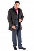 Оптом Пальто мужское серого цвета Mc-17Sr