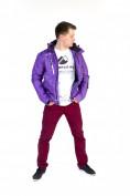 Интернет магазин MTFORCE.ru предлагает купить оптом куртку мужскую осень весна фиолетового цвета 1718F по выгодной и доступной цене с доставкой по всей России и СНГ